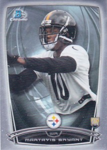2014 Bowman Chrome Football Variation Short Prints 47