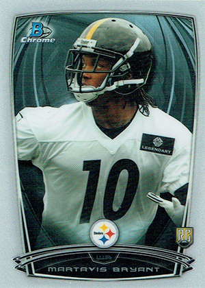2014 Bowman Chrome Football Variation Short Prints 53