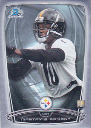 2014 Bowman Chrome Football Variation Short Prints 52