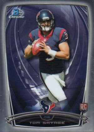 2014 Bowman Chrome Football Variation Short Prints 54