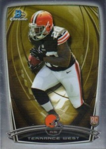 2014 Bowman Chrome Football Variation Short Prints 56