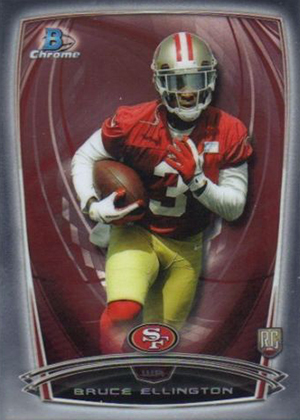 2014 Bowman Chrome Football Variation Short Prints 66
