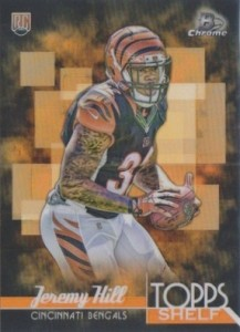 2014 Bowman Chrome Football Topps Shelf Jeremy Hill
