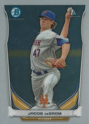 Jacob deGrom Rookie Cards Checklist and Top Prospect Cards 16