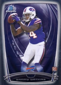 Sammy Watkins Rookie Card Guide and Checklist 2