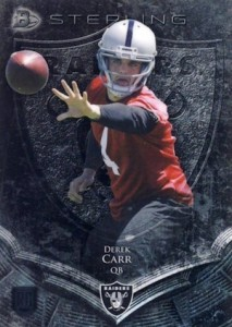 Derek Carr Rookie Card Gallery and Checklist 21