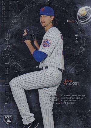Jacob deGrom Rookie Cards Checklist and Top Prospect Cards 1