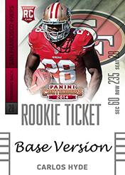 2014 Panini Contenders Football Rookie Ticket Autograph Variations Guide 17