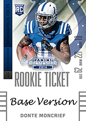 2014 Panini Contenders Football Rookie Ticket Autograph Variations Guide 37