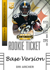 2014 Panini Contenders Football Rookie Ticket Autograph Variations Guide 39
