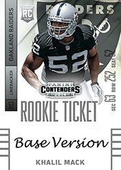 2014 Panini Contenders Football Rookie Ticket Autograph Variations Guide 57