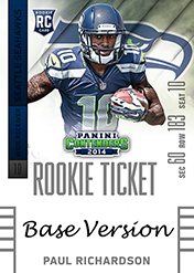 2014 Panini Contenders Football Rookie Ticket Autograph Variations Guide 67