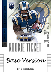2014 Panini Contenders Football Rookie Ticket Autograph Variations Guide 78