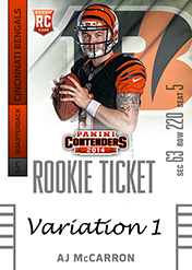 2014 Panini Contenders Football Rookie Ticket Autograph Variations Guide 5