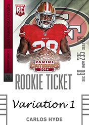 2014 Panini Contenders Football Rookie Ticket Autograph Variations Guide 18