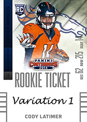 2014 Panini Contenders Football Rookie Ticket Autograph Variations Guide 23
