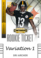 2014 Panini Contenders Football Rookie Ticket Autograph Variations Guide 40