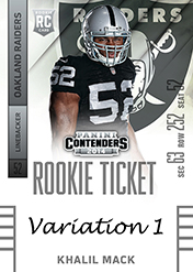 2014 Panini Contenders Football Rookie Ticket Autograph Variations Guide 58