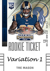 2014 Panini Contenders Football Rookie Ticket Autograph Variations Guide 79