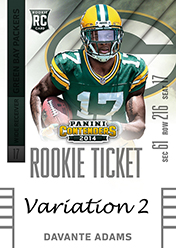 2014 Panini Contenders Football Rookie Ticket Autograph Variations Guide 28