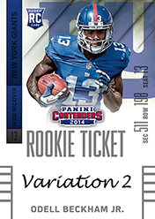 2014 Panini Contenders Football Rookie Ticket Autograph Variations Guide 66
