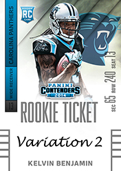 2014 Panini Contenders Football Rookie Ticket Autograph Variations Guide 85