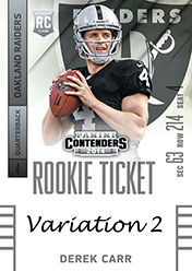 2014 Panini Contenders Football Rookie Ticket Autograph Variations Guide 33