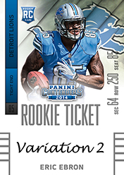 2014 Panini Contenders Football Rookie Ticket Autograph Variations Guide 43