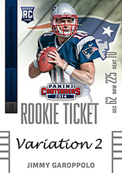 2014 Panini Contenders Football Rookie Ticket Autograph Variations Guide 51