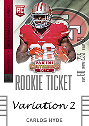 2014 Panini Contenders Football Rookie Ticket Autograph Variations Guide 19