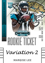 2014 Panini Contenders Football Rookie Ticket Autograph Variations Guide 63