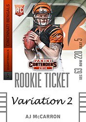 2014 Panini Contenders Football Rookie Ticket Autograph Variations Guide 6