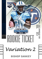 2014 Panini Contenders Football Rookie Ticket Autograph Variations Guide 82