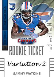 2014 Panini Contenders Football Rookie Ticket Autograph Variations Guide 91