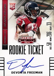 2014 Panini Contenders Football Rookie Ticket Autograph Variations Guide 36