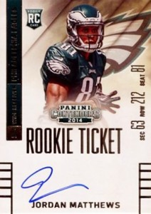 2014 Panini Contenders Football Rookie Ticket Autograph Variations Guide 54