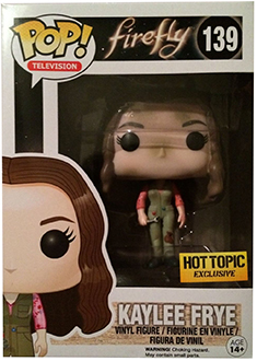 2014 Funko Pop Firefly 139 Dirty Kaylee Frye Hot Topic