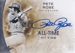 2014 Leaf Q Pete Rose Autograph