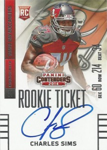 2014 Panini Contenders Football Rookie Ticket Autograph Variations Guide 20