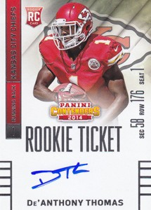 2014 Panini Contenders Football Rookie Ticket Autograph Variations Guide 29