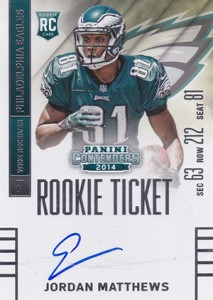2014 Panini Contenders Football Rookie Ticket Autograph Variations Guide 52