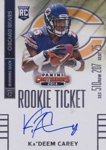 2014 Panini Contenders Football Rookie Ticket Autograph Variations Guide 55