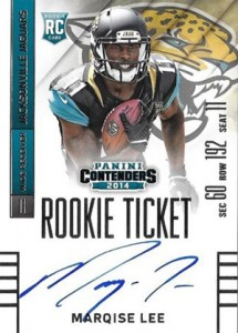 2014 Panini Contenders Football Rookie Ticket Autograph Variations Guide 61