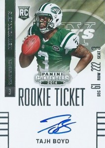 2014 Panini Contenders Football Rookie Ticket Autograph Variations Guide 69