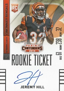 2014 Panini Contenders Football Rookie Ticket Autograph Variations Guide 76