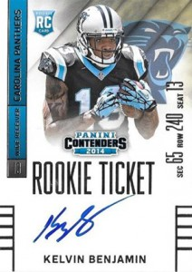 2014 Panini Contenders Football Rookie Ticket Autograph Variations Guide 83
