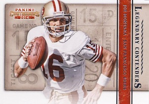 2014 Panini Contenders Football Legendary