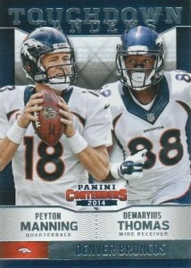 2014 Panini Contenders Football Touchdown Tandems