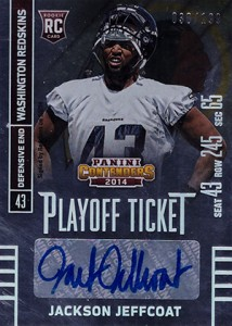 2014 Panini Contenders Football Rookie Ticket Autograph Variations Guide 144