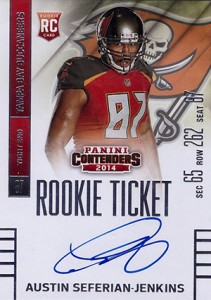 2014 Panini Contenders Football Rookie Ticket Autograph Variations Guide 14